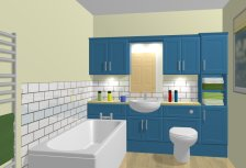 Bathroom with Fitted Units