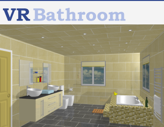 VR Bathroom 3-D Image