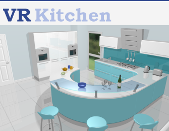 VR Kitchen 3-D Image